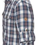 Fjäll Räven Singi Flannel Shirt LS M uncle blue