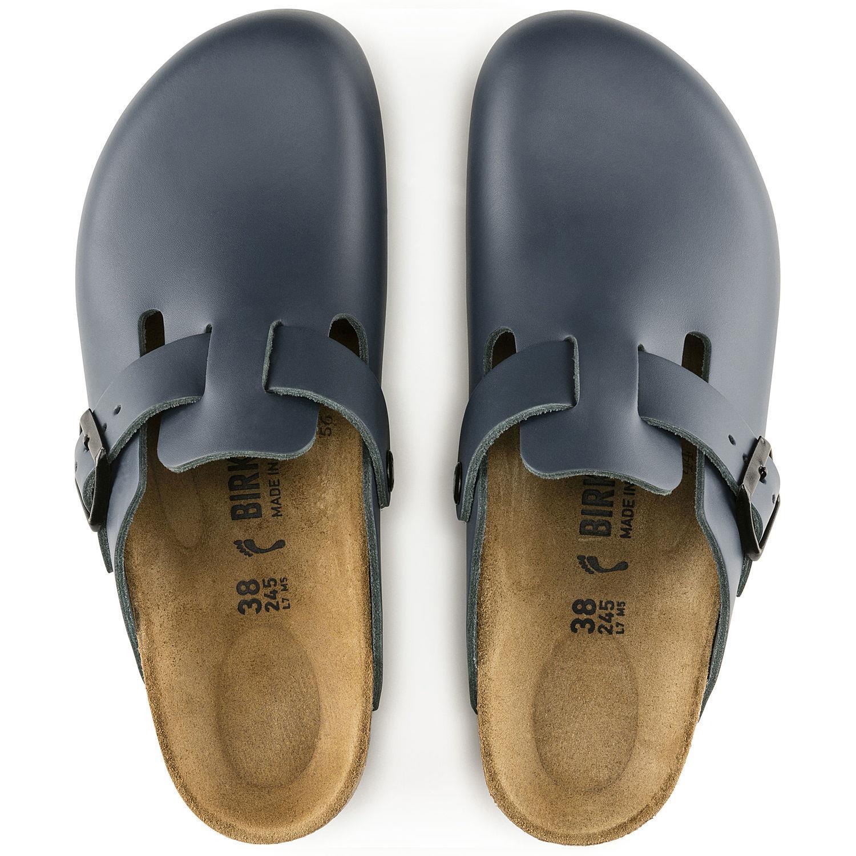 Birkenstock 182193 PALMA Sandalen schmal Leder glatt schwarz