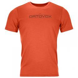 Ortovox - 185 Merino 1st Logo TS Herren Desert Orange