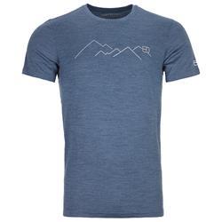 Ortovox - 185 Merino Mountain TS Herren Night Blue Blend