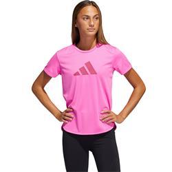 Adidas W Bos Logo Tee  screaming pink