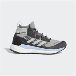 Adidas - Terrex Free Hiker Gore-Tex (Ch Solid Grey - Grey Two - Glow Blue)