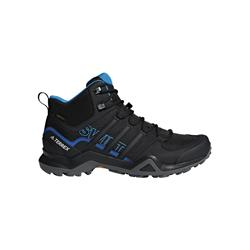 Adidas - Terrex Swift R2 Mid Gore-Tex Wanderschuh (Core Black - Core Black - Bright Blue)