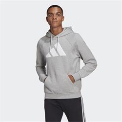 Adidas Sportswear FI Hoodie Pullover grau