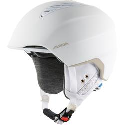 Alpina Grand Lavalan white-prosecco matt Skihelm