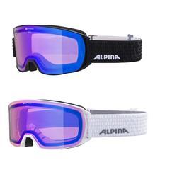 Alpina Nakiska QHM blue Skibrille