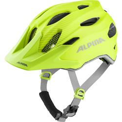 Alpina Carapax jr. Flash be visible Kinder Radhelm
