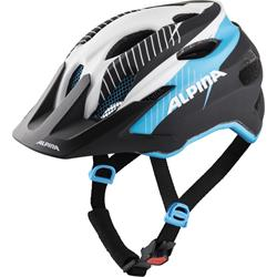 Alpina Carapax jr., white-black blue