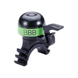 BBB Cycling MiniFit BBB-16 Klingel, schwarz/grün