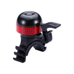 BBB Cycling MiniFit BBB-16 Klingel, schwarz/rot