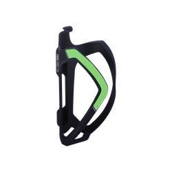 BBB Cycling FlexCage BBC-36 Flaschenhalter, matt schwarz/grün