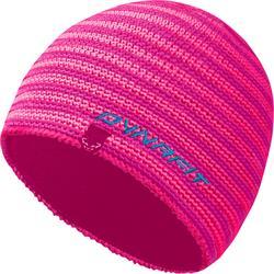 Dynafit Hand Knit 2 Beanie gehäkelte Mütze lipstick