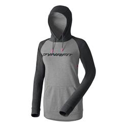 Dynafit 24/7 Logo Woman Hoody black out