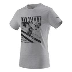Dynafit Heritage Cotton Men T-shirt nimbus melange