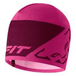 Dynafit Leopard Logo Beanie flamingo Mütze