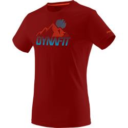 Dynafit Transalper Graphic T-Shirt red