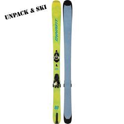 Dynafit Youngstar Ski Set yellow 2021 2022