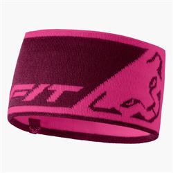 Dynafit Leopard Logo Headband flamingo