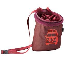 Edelrid Chalk Bag Rocket Twist, vinered