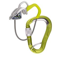 Edelrid Mega Jul Belay Kit Bulletproof Screw, oasis