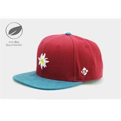 Bavarian Caps Edelweiß Primavera Rot