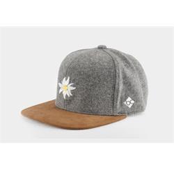 Bavarian Caps Edelweiß Wildleder