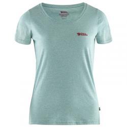 Fjäll Räven Logo T-Shirt W clay blue melange