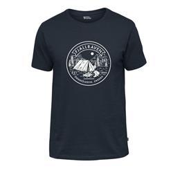 Fjäll Räven Lägerplats T-Shirt M navy
