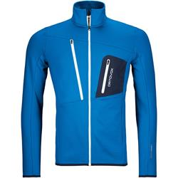 Ortovox - Fleece Grid Jacke Herren Safety Blue