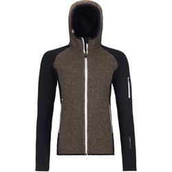 Ortovox - Fleece Plus Classic Knit Hoody Damen Black Raven
