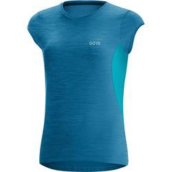 Gore R3 Women Shirt sphere blue scuba blue