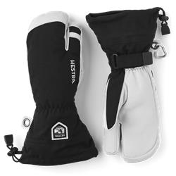 Hestra Army Leather Heli Ski - 3 finger Handschuh black