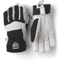 Hestra Army Leather Coulior Handschuh black/offwhite
