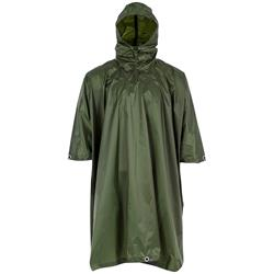 Highlander Adventure Hooded Poncho, oliv