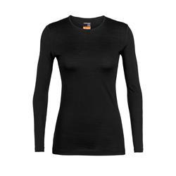 Icebreaker Merino 200 Oasis Langarmshirt Damen black