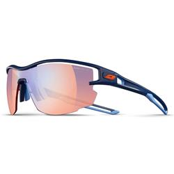 Julbo Aero REACTIV Performance 1-3 (Zebra Light Red) Sonnenbrille, blau matt