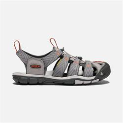 Keen Clearwater CNX M grey/flannel/potters, Herrensandale 2020