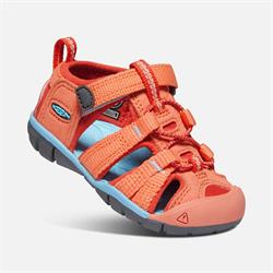Keen Seacamp II CNX T coral/poppy red, Kindersandale 2020