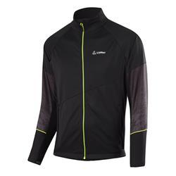 Löffler Men Jacket WS Light black neon yellow