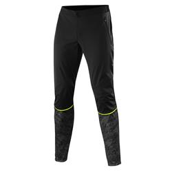 Löffler Men Pants Speed WS Light black neon yellow