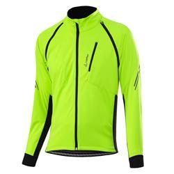 Löffler Men Bike Zip-Off Jacket San Remo 2 WS Light neon yellow