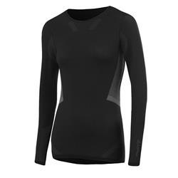 Löffler Women Shirt L/S Transtex Warm Hybrid black