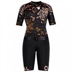 Maloja Goldpippa Racebody Bike moonless mille fleur Damen Radsuit