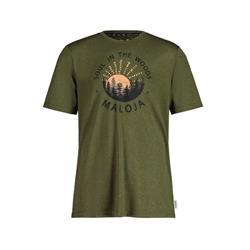 Maloja Eberesche Short Sleeve Multisport moss Herren T-Shirt