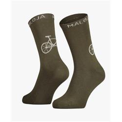 Maloja Stalk moss Socken