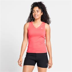 Odlo Active F-Dry Light Eco Top V-Neck Singlet siesta Funktion Damen Unterhemd