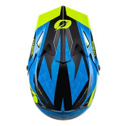 Sonus Helmet Deft, blue/neon yellow