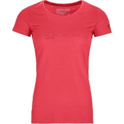 Ortovox 150 Cool Ewoolution TS hot coral Damen T-Shirt