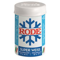 Rode P28 Ski Wax Super Weiss -1°C/-4°C, 45g