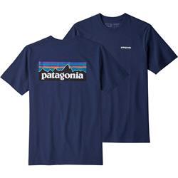 Patagonia Men's P-6 Logo Responsibili-Tee, classic navy